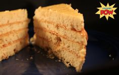 Maple & Banana Peanut Butter Protein Cake - Protein Pow