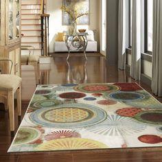 Mohawk Home Motion Printed Nylon Area Rug, Multicolor
