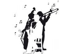 Jazz Band-Wall Decals