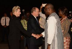 Prince Albert's and Princess Charlene's visit to Burkina Faso