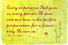 Corrie ten Boom | only He can see...