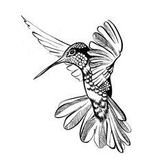 Designs By Ryn Flying Hummingbird 2