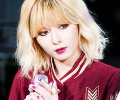 hyuna short hair