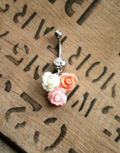 cute belly button ring