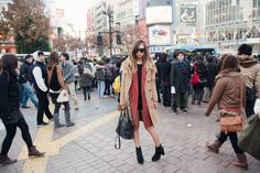 (The Suit Company coat over Topshop 'boyfriend' coat, Topshop sweater, 3.1 Phillip Lim leather shorts, Alexa Chung x Madewell boots, Marco Tagliaferri bag, Chanel nail polish in Blue Boy)  dec