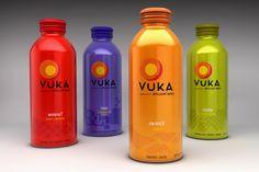 Vuka - 3D Packaging Illustrations