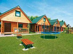 Ferienhaus Ustronie Morskie10W Ustronie Morskie  - Kleine Ferienhausanlage mit 6 schönen Ferienhäusern auf großem Rasengrundstück