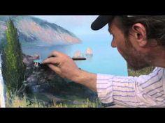 Игорь Сахаров в Ялте. Научиться рисовать пейзаж. Новый Bob Ross