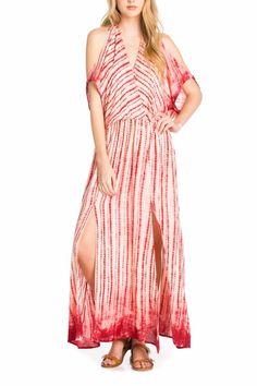 Dance & Marvel Tie Dye Maxi Dress - Main Image