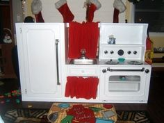 play kitchen from kitchen cabinets