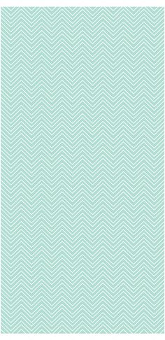 Vinyl wallpaper. Self-adhesive chevron aqua ofir by Yaelyaniv