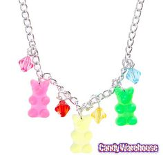 Just found Gummy Bear Charm Necklace @CandyWarehouse, Thanks for the #CandyAssist!