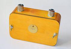 handgefertigte hölzerne Lochkamera Mittelformat von vermeercameras