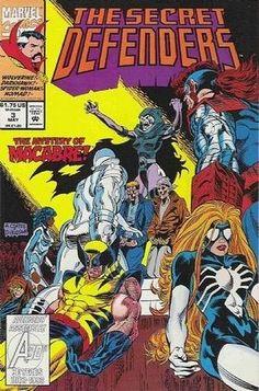 The Secret Defenders (Marvel Comics, 1993) #3