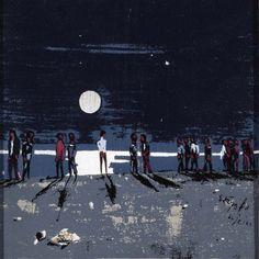 Βασιλείου Σπύρος – Spyros Vassiliou [1903-1985]   paletaart - Χρώμα & Φώς Street Art, Dolores Park, Painting, Exterior, Landscape, Artwork, Travel, Outdoor, Greeks