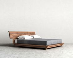 Distinct furniture with advanced plan makes an announcement at your residence, see present-day settees, bed frames and storage. Design Living Room, Bedroom Bed Design, Bedroom Sets, Timber Beds, Wood Beds, Design Furniture, Bedroom Furniture, Bedroom Decor, Cama Tatami
