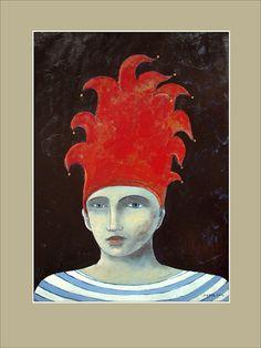 Tempera & Acrylic on paper by Pawel Krol