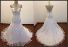 Custom Made Elegant Wedding Dresses