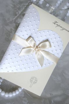 Wedding Invitation | Zaproszenia Ślubne Love Cards, Diy Cards, Invitation Cards, Invitations, Wedding Invitation, Tarjetas Diy, Karten Diy, Wedding Cards Handmade, Engagement Cards