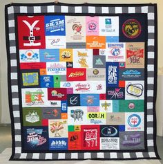 tee shirt quilt | After our ongoing unhappy marriage, my ex and I consciously choose to ...