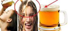 Solo Una Cerveza en tu Cabello, y los Resultados no los Podrás Creer