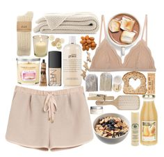"""""""#125"""" by alianez ❤ liked on Polyvore featuring philosophy, Mulberry, Cosabella, Yankee Candle, C.R.A.F.T., Korres, Aesop, Caswell-Massey, Philip Kingsley and NARS Cosmetics"""