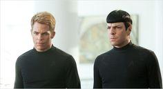james kirk et spock