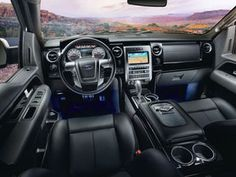 2012 Ford Harley-Davidson F-150 Pickup Truck: The Truck's Interior