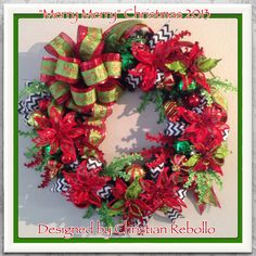 """Inspired by one of the most famous Christmas stories, """"Merry Merry"""" was the theme for 2013s Christmas Decorations. Making its debut; this is a completely new theme in my Christmas Decor Collections Designed by Christian Rebollo"""