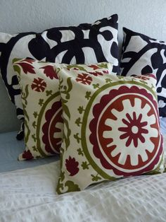 Decorative Pillows Cover Premier Prints Suzani by simplypillow, $25.00