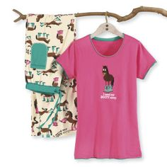 I Need My Booty Sleep Adult PJ Tee - Horse Themed Gifts, Clothing, Jewelry and Accessories all for Horse Lovers | Back In The Saddle