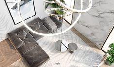 Villas on Behance Bedroom Radiators, Modern Interior, Home Interior Design, Dubai, Luxury Kitchen Design, Cuisines Design, Contemporary Bedroom, Luxurious Bedrooms, Luxury Apartments