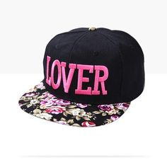 Lover Cap three-dimensional embroider snapback