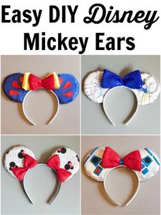 Free Download For Mickey Mouse Ears Template Party