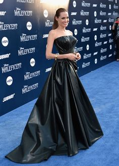 Blue Carpet Style at the Maleficent World Premiere
