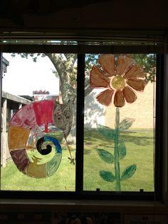 eric carle window art