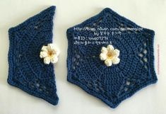 Crochet between worlds: Fridas Flowers CAL - Block 2 - Dahlia Bud Crochet Blocks, Granny Square Crochet Pattern, Crochet Chart, Crochet Squares, Crochet Motif, Diy Crochet, Blanket Crochet, Granny Squares, Crochet Puff Flower