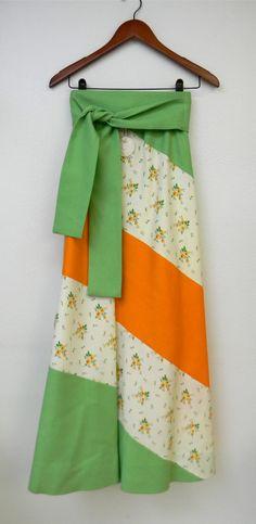 Vintage Skirt 70s Chessa Davis Hippie Boho by PinkCheetahVintage, $32.00