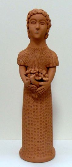 Guilherme de Nuca - peça em barro cozido natural 13x48cm
