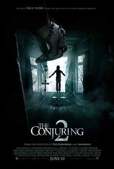 The Conjuring 2 sees the return of the paranormal investigators, Ed and Lorraine Warren. It is the sequel to the 2013 Horror The Conjuring. Scary Movies, New Movies, Movies To Watch, Movies Online, Good Movies, 2016 Movies, Movies Box, Tv Watch, Imdb Movies