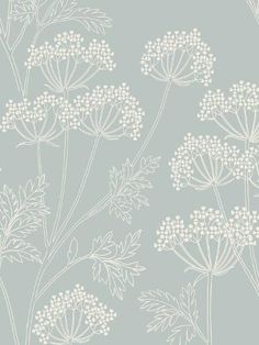 Buy John Lewis Cow Parsley Wallpaper | John Lewis