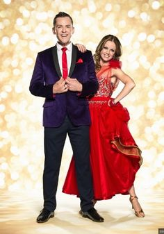 Strictly Come Dancing 2014. Scott Mills & Joanne Clifton. Official photo