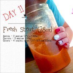 Juicing Diet: Day 11