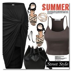 """""""le3no.com"""" by svijetlana ❤ liked on Polyvore featuring Gianvito Rossi and LE3NO"""