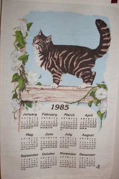 reminds me, I had a kitten wall scroll calendar in the 90s