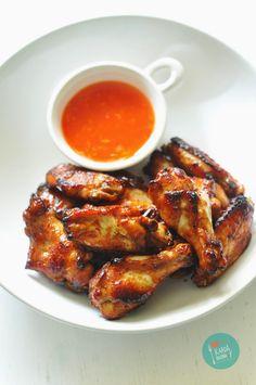 Kardamonovy: Pieczone skrzydełka z kurczaka
