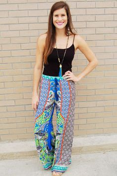 Gypsy Lady Pants | Teal, A Swanky Boutique