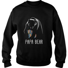 Autism Papa Bear - Autism Awareness Shirt #gift #ideas #Popular #Everything #Videos #Shop #Animals #pets #Architecture #Art #Cars #motorcycles #Celebrities #DIY #crafts #Design #Education #Entertainment #Food #drink #Gardening #Geek #Hair #beauty #Health #fitness #History #Holidays #events #Home decor #Humor #Illustrations #posters #Kids #parenting #Men #Outdoors #Photography #Products #Quotes #Science #nature #Sports #Tattoos #Technology #Travel #Weddings #Women