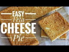 Easy Feta Pie without phyllo - Jim Michailidis - YouTube Easy Pie Recipes, Simply Recipes, Simply Food, Cheese Pies, Feta, Banana Bread, Snacks, Desserts, Youtube