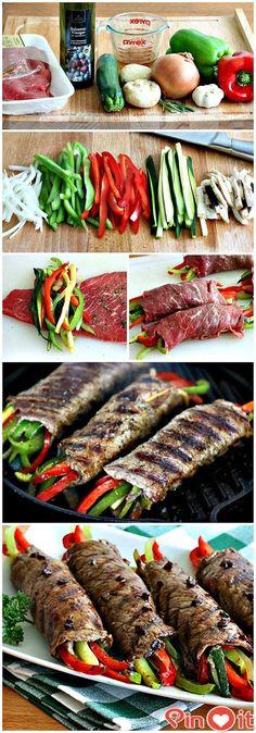 FASHİON TV 2015: Balsamic Glazed Steak Rolls